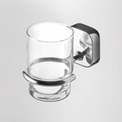 Ποτηροθήκη μπάνιου κρυστάλλινη THESSA 2402