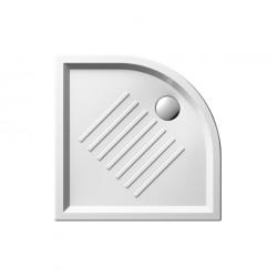 Ντουσιέρα γωνιακή SLIM 3497