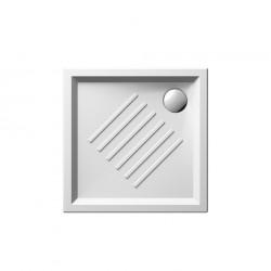 Ντουσιέρα τετράγωνη SLIM 3386